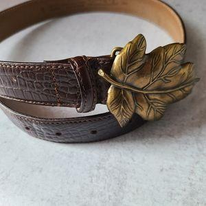 Vintage Leather Talbots belt